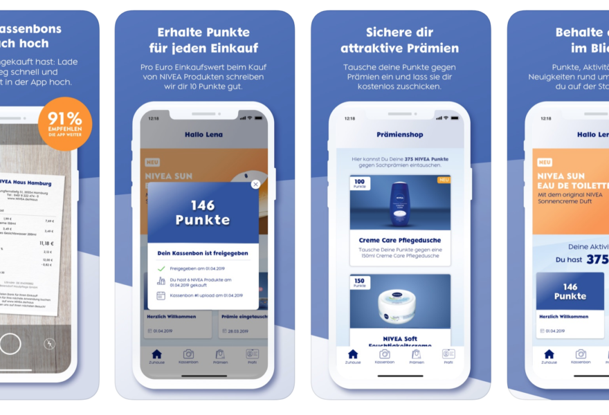 NIVEA App / Loyalty